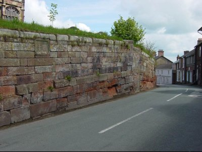 St Oswalds Church Yard Wall