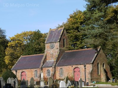 Malpas Chapel Of Rest in the Cemetery