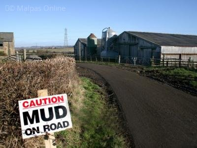 mud on road 2